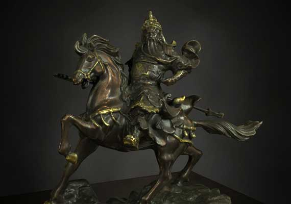 Guan Yu statue 3D Scan from Artec 3D Scanners.<br><h7>DAZ Studio 4.5 Pro | LuxRender</h7>